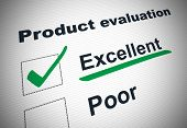 Product Evaluation Form