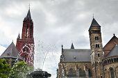 Vrijthof Square In Maastricht City, Netherlands