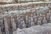 image of qin dynasty  - CHINA XIAN  - JPG