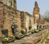 Beheaded Buddhist Statues