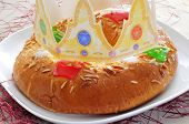 stock photo of three kings  - roscon de reyes - JPG