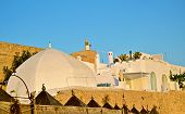 Tunisia - the castle walls and houses of Hammamet