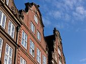 Hanseatic Trader Houses In Hamburg Left