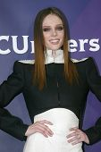 PASADENA, CA - JAN. 7: Coco Rocha arrives at the NBCUniversal 2013 Winter Press Tour at Langham Hunt