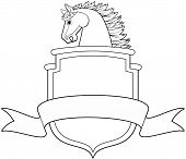 Horse and Shield