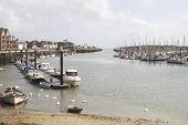 foto of pontoon boat  - River Arun at Littlehampton - JPG