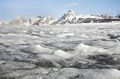 schmelzende Gletscher, Arktis, Spitzbergen