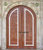 Постер, плакат: Мечеть двери