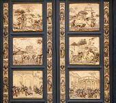 Fragment Of The Florence Cathedral Baptistery Doors