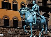 The Bronze Statue Of Cosimo I De' Medici