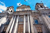 Cathedral In The Center Of Guatemala City