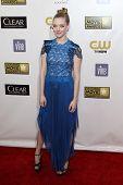 LOS ANGELES - JAN 9:  Amanda Seyfried arrives at the 18th Annual Critics' Choice Movie Awards at Barker Hangar on January 9, 2013 in Santa Monica, CA