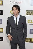 LOS ANGELES - JAN 9:  Ian Somerhalder arrives at the 18th Annual Critics' Choice Movie Awards at Bar