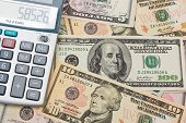 The Calculator And Us Dollars