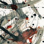 Abstrato base de grunge, textura de tinta.
