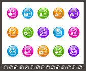 Documents Icons - 2 of 2 // Rainbow Series