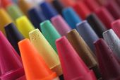 Colorful Pastel(crayon) Pencils Tips For Children And Others Used For Kids Drawing & Coloring Arrang