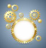 Cogwheel Gear Document Template