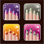 Set Of Icons Of Women's Manicure.0