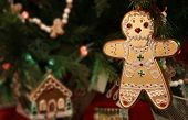 Gingerbread Man Christmas Ornament