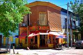 olorful area in La Boca neighborhoods