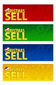 Four Banners Christmas Sell