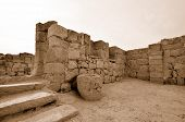 stock photo of sate  - Fragment of the Avdat National Park World Heritage Sate - JPG