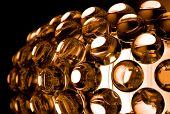 Glass Spherical Design Elements Of Modern Chandelier