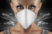 Swine Flu Woman
