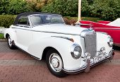 Classic Old Car White