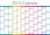 2014 Calendar - EN