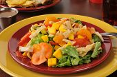 Colorful Tropical Salad