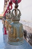 Big bell with at wat phra that chor hae.lanna northern,thailand.