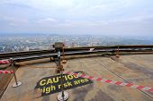 MALAYSIA - AUGUST 11 : Observation Deck at the Kuala Lumpur Tower (Menara KL) on August 11, 2013. To