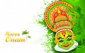 stock photo of onam festival  - illustration of - JPG