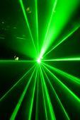 Green Laser Light