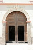 Salinas Church Door