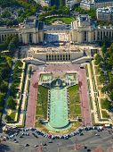 View Of Trocadero From Eiffel Tower