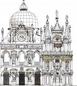 Venice Doge's court, Sketch collection