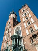 St. Mary's Basilica In Cracow