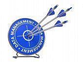 Data Management Concept - Hit Target.