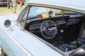 1962 Chevy 2 Door Impala Interior View
