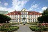 Gdansk Oliwa (Oliva) en Polonia. Residencia de Abades.