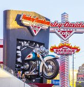 Harley Davidson Cafe In The Strip