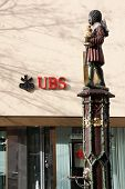 Swiss bank UBS building