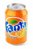 Aluminum Can Of Fanta