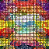 Seamless Colorful Mosaic Pattern