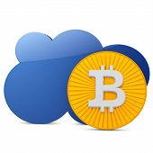 3D Bitcoin With The Cloud