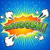 Whoosh !- Comic Speech Bubble