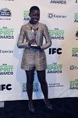 LOS ANGELES - MAR 1:  Lupita Nyong'o at the Film Independent Spirit Awards at Tent on the Beach on M